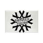 Melanoma Cancer Sucks Rectangle Magnet (10 pack)