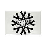 Melanoma Cancer Sucks Rectangle Magnet (100 pack)
