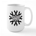 Melanoma Cancer Sucks Large Mug