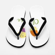 Easter Chick Clarissa Flip Flops