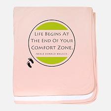 'Comfort Zone' baby blanket