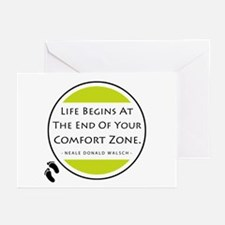 'Comfort Zone' Greeting Cards (Pk of 10)