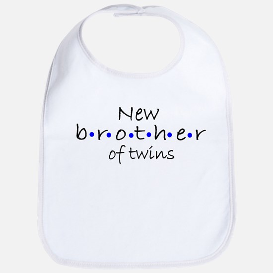 Brother of twins Bib
