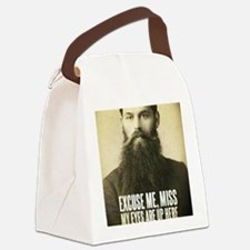Excuse me, Miss Canvas Lunch Bag
