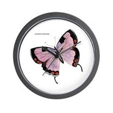 Colorado Hairstreak Butterfly Wall Clock