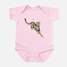 Cheetah Wild Cat Infant Bodysuit