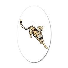 Cheetah Wild Cat Wall Decal