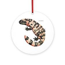 Gila Monster Lizard Ornament (Round)