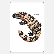 Gila Monster Lizard Banner