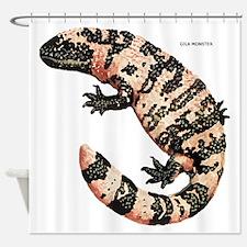 Gila Monster Lizard Shower Curtain