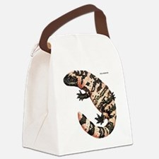 Gila Monster Lizard Canvas Lunch Bag