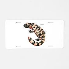 Gila Monster Lizard Aluminum License Plate