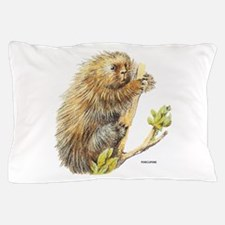 Porcupine Animal Pillow Case