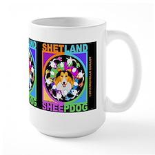 Sheltie Dog Breed Graphics Mug