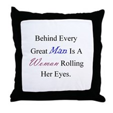Unique Powered Throw Pillow