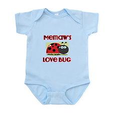 Memaws Love Bug Body Suit