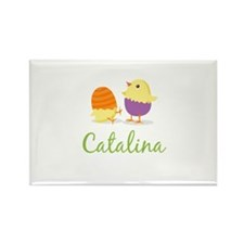 Easter Chick Catalina Rectangle Magnet (100 pack)