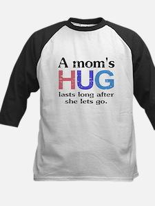 A Moms Hug Baseball Jersey