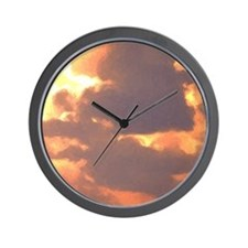 sailor's warning Wall Clock