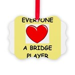 duplicate bridge Ornament