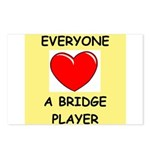 duplicate bridge Postcards (Package of 8)