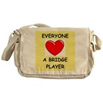 duplicate bridge Messenger Bag