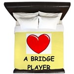 duplicate bridge King Duvet