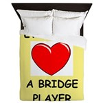 duplicate bridge Queen Duvet