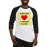 duplicate bridge Baseball Jersey