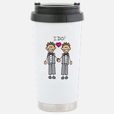Unique Gay wedding Travel Mug