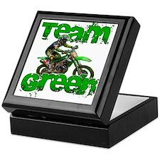 Team Green 2013 Keepsake Box