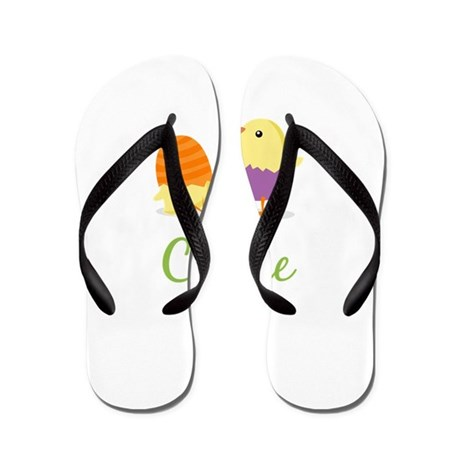 Easter Chick Claire Flip Flops