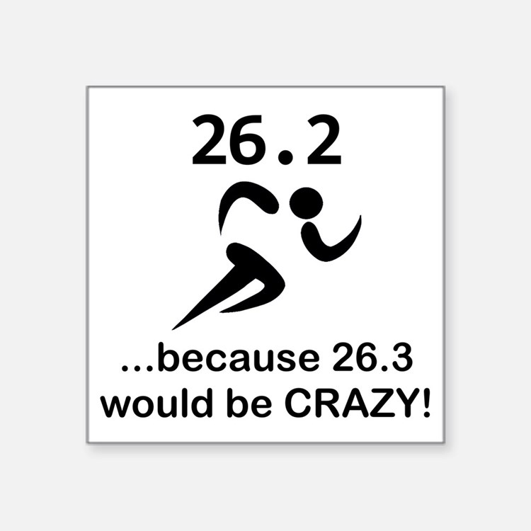 26.3 Would Be CRAZY! Sticker