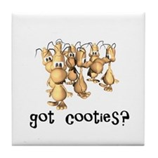 Got Cooties? Tile Coaster