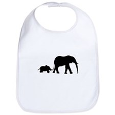 Elephant Motif Mother and child Bib