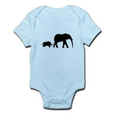 Elephant Motif Mother and child Body Suit