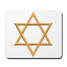 Star of David for Passover Mousepad