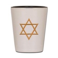 Star of David for Passover Shot Glass