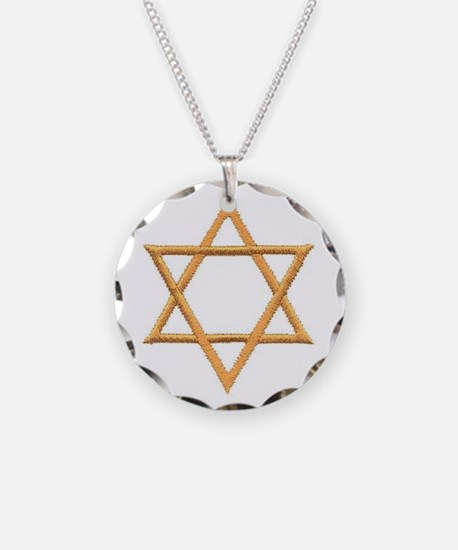 Star of David for Passover Necklace
