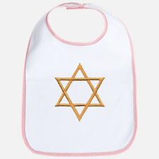 Star of David for Passover Bib