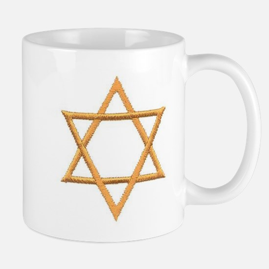 Star of David for Passover Mug