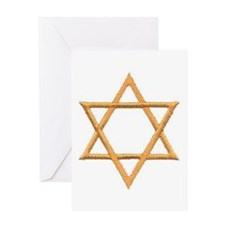 Star of David for Passover Greeting Card