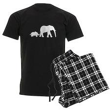 Elephant Motif Mother and child pajamas