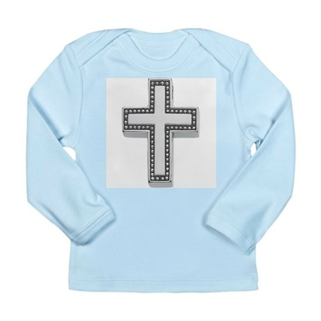 Silver Cross/Christian Long Sleeve Infant T-Shirt