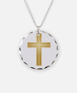 Gold Cross/Christian Necklace