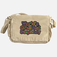 Worlds Greatest Stephany Messenger Bag