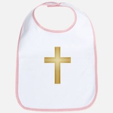 Gold Cross/Christian Bib