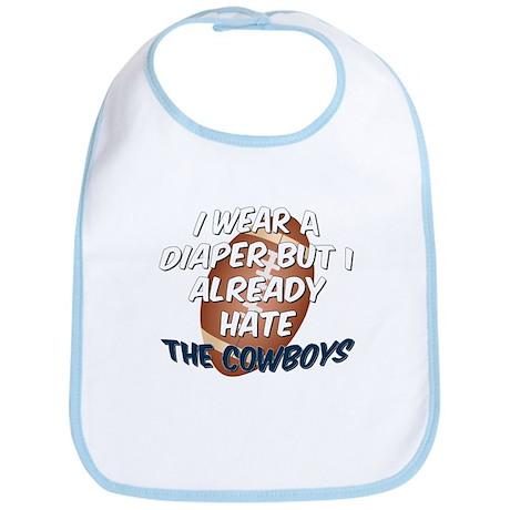 HATE the Cowboys Bib