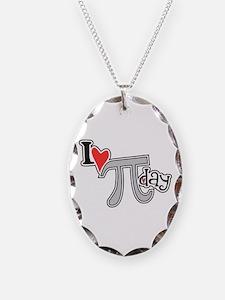 I heart (love) Pi Day Necklace