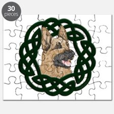 Celtic German Shepherd Puzzle